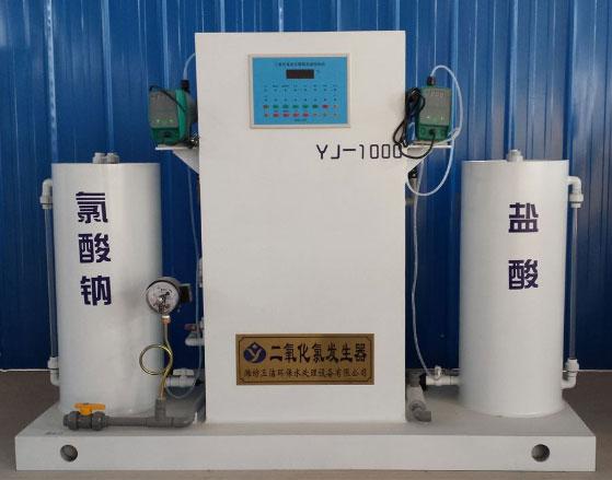 江蘇電解法二氧化氯發生器