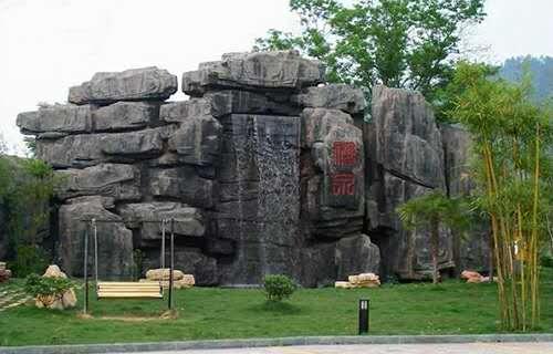 景区塑石假山