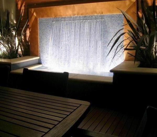 酒店室内水景墙