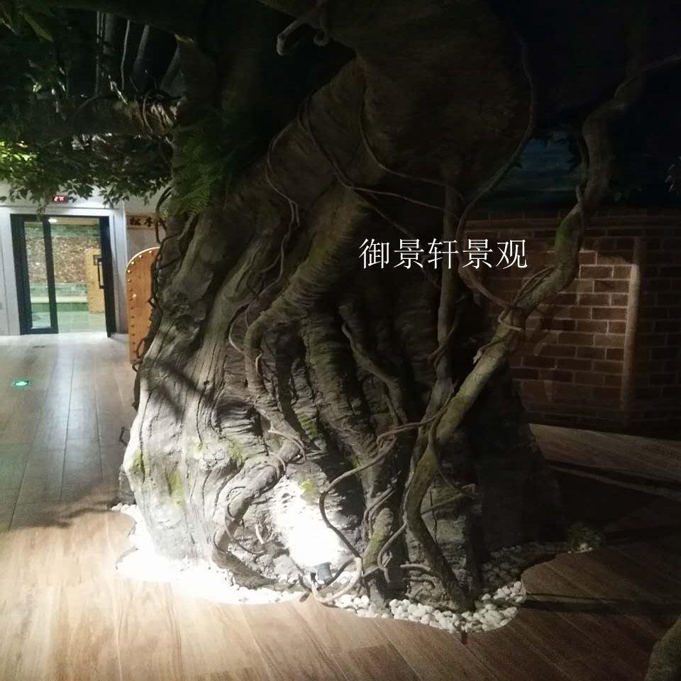仿真大型榕树