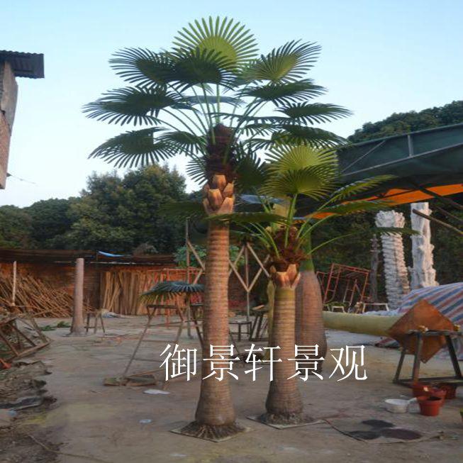 大型仿真蒲葵树
