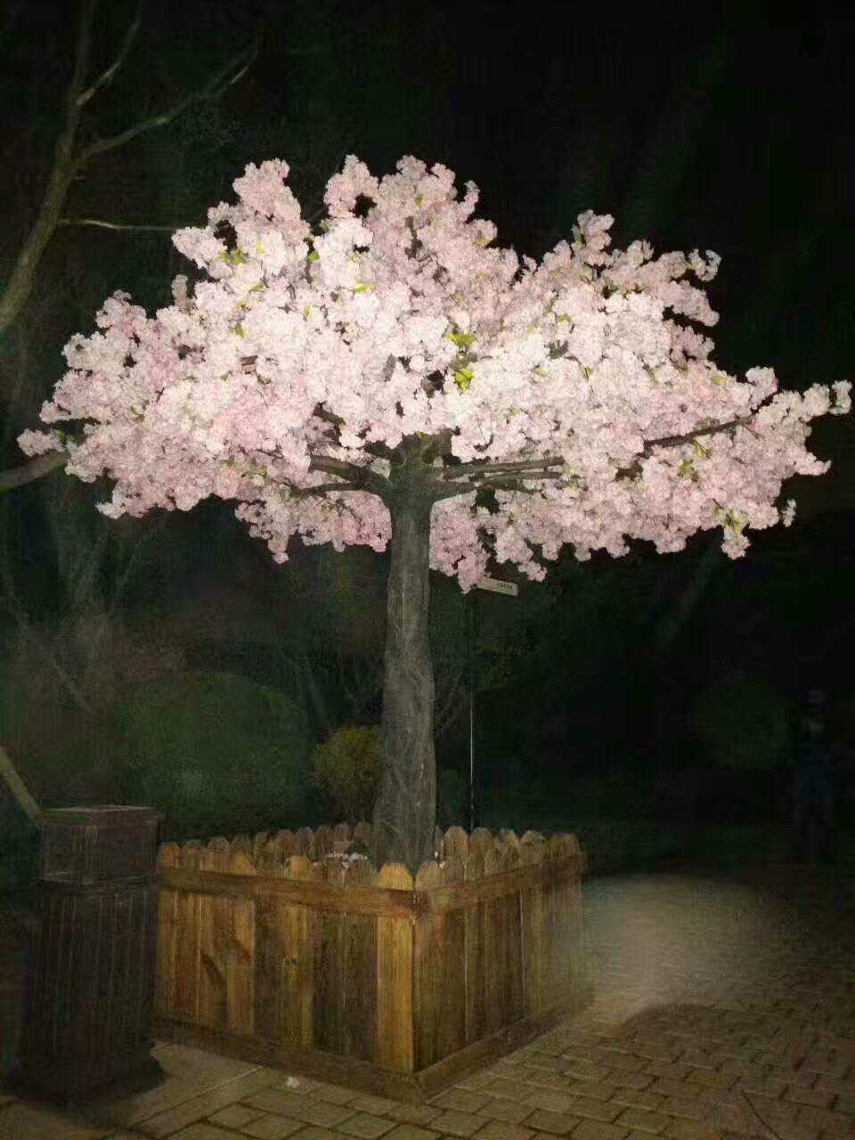 樱花树仿真景观