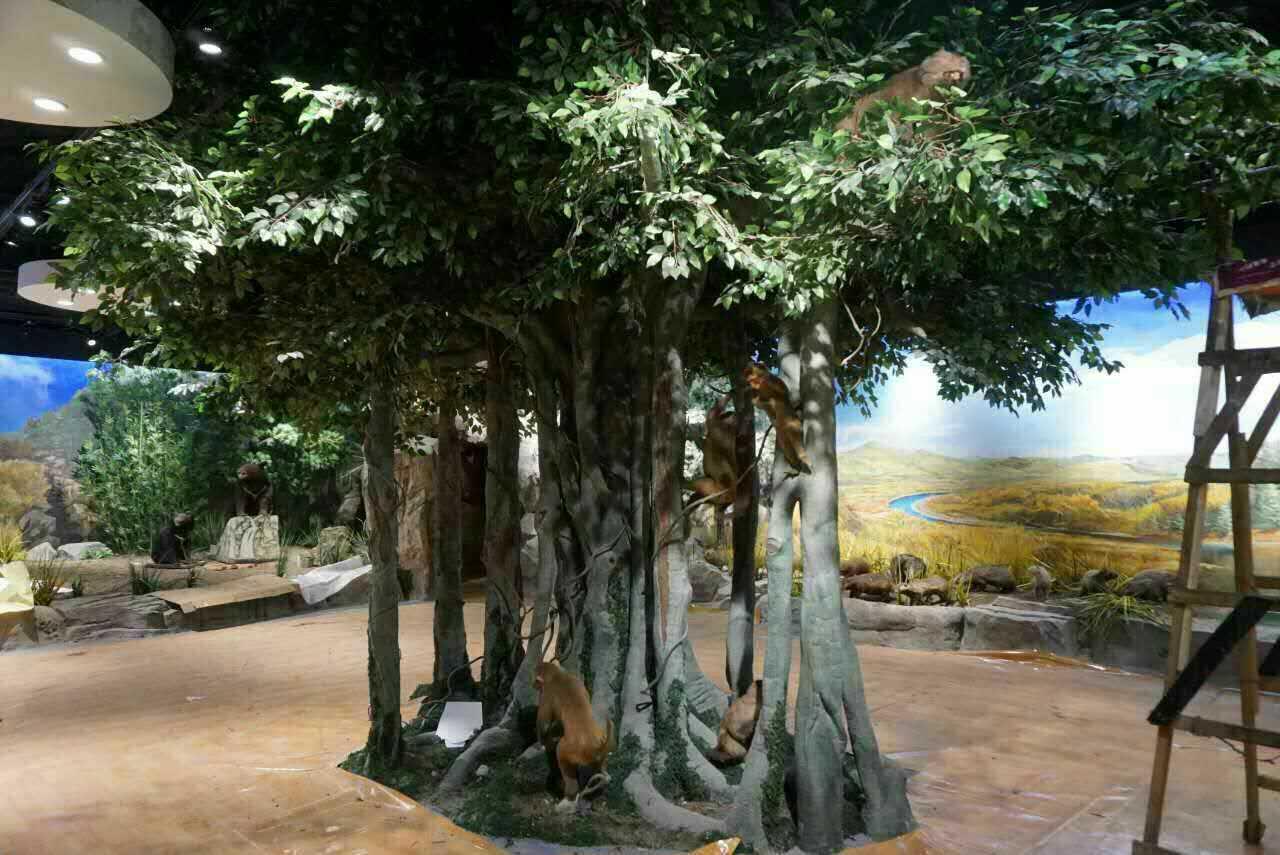水泥雕刻造型仿真树