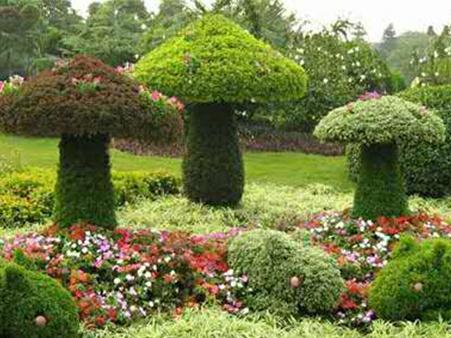 大型仿真树