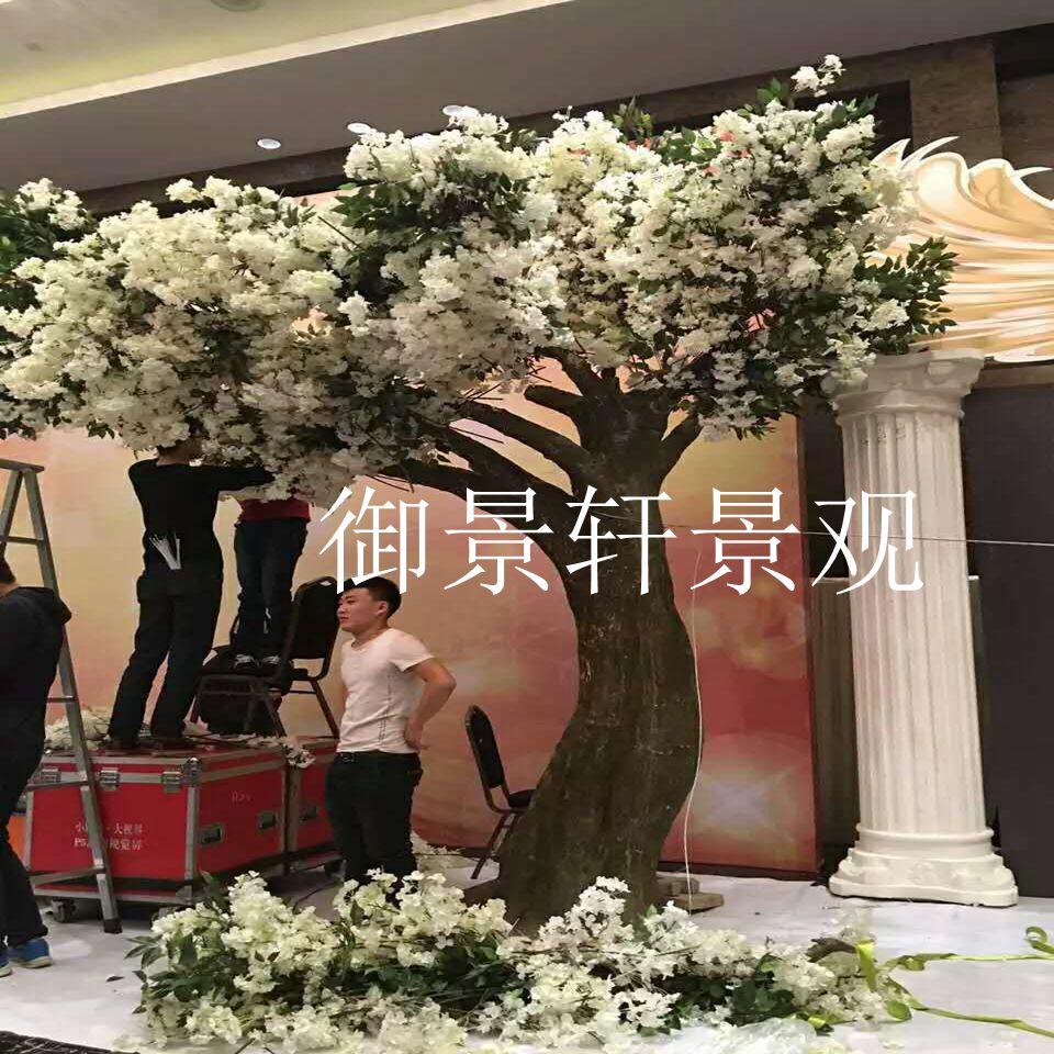 大型樱花树仿真