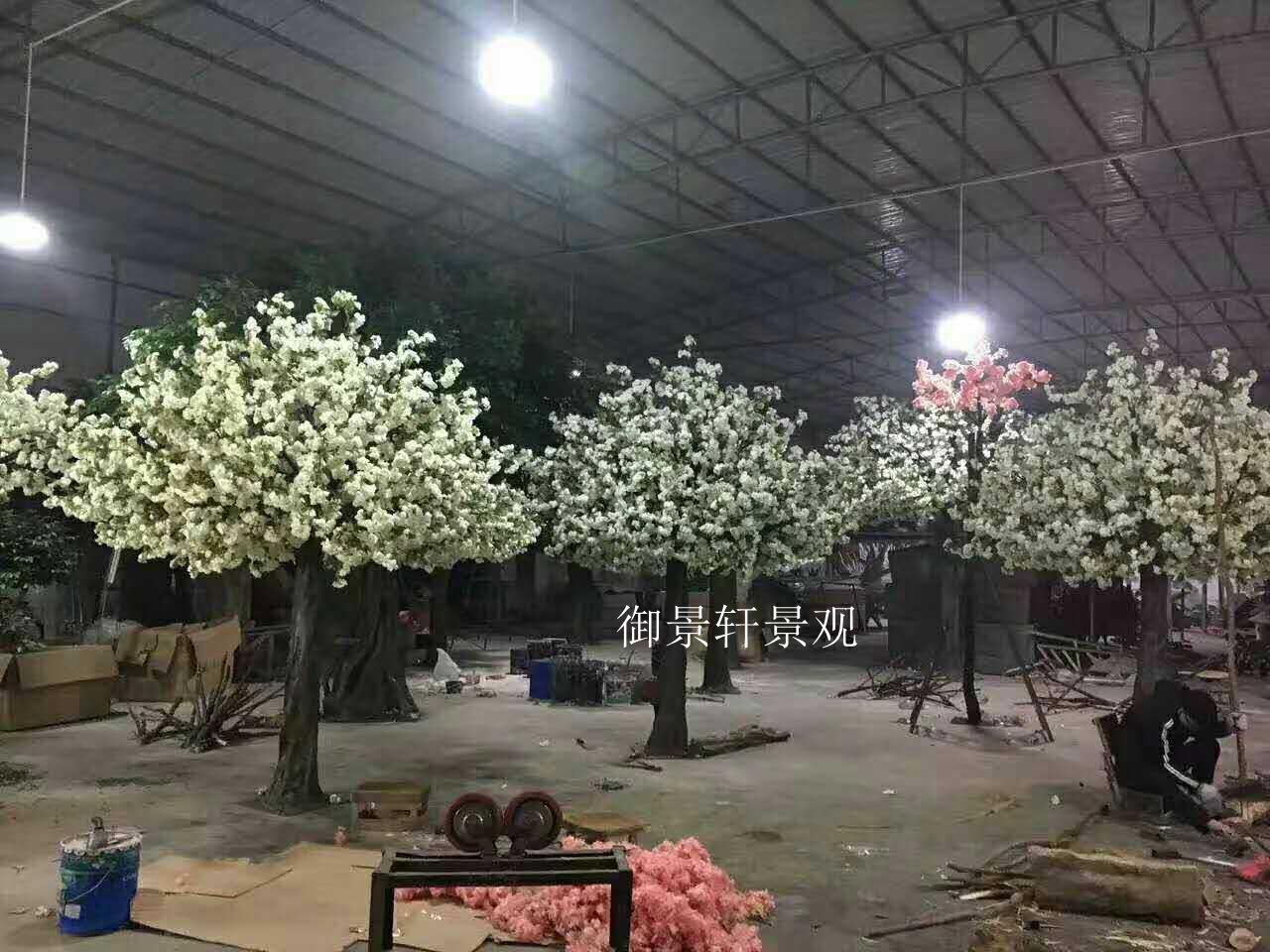 景观仿真樱花树