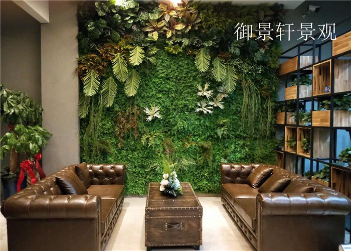 绿植墙外型施工