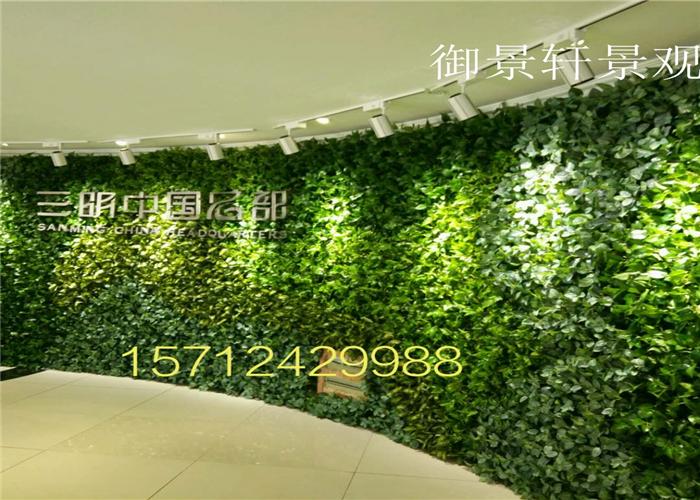 沈阳绿植墙案例