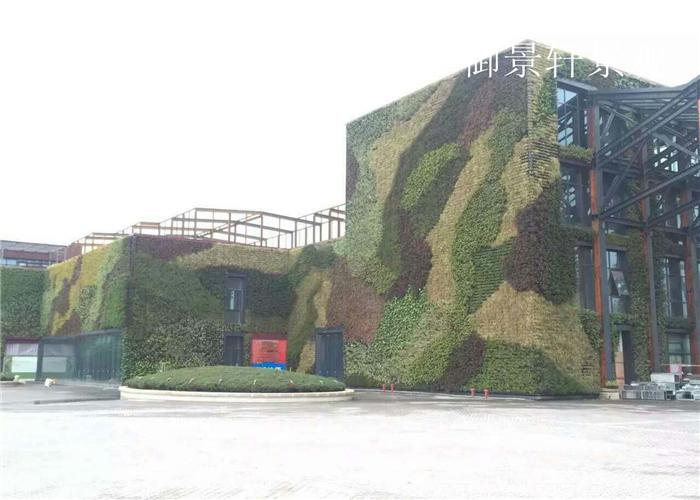 文化城绿植墙景观