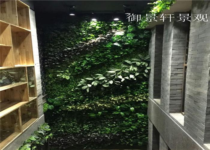 温泉洗浴绿植墙