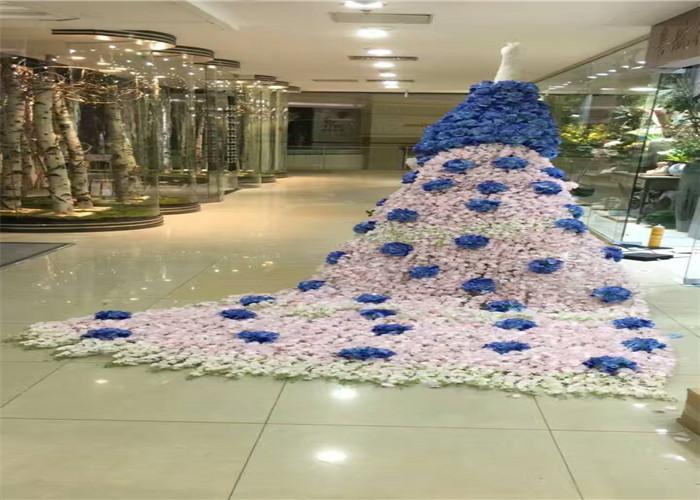 室内展览植物雕塑