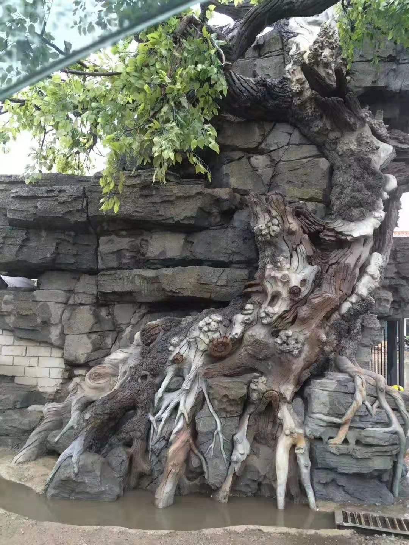 仿真包柱榕树