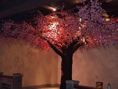 迷你小桃花树