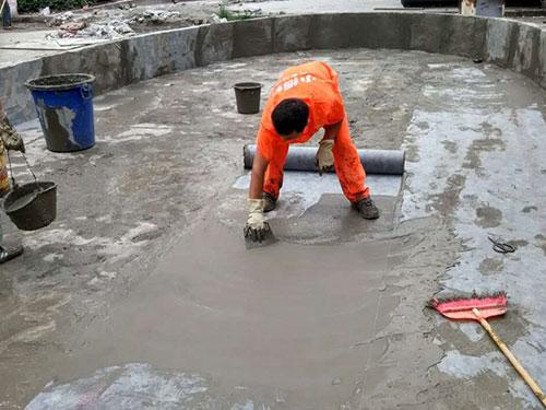 学校水池防水施工