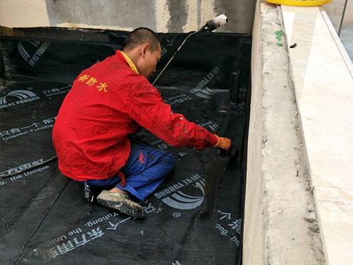 露台防水维修