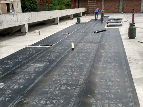 消防隊屋頂防水施工