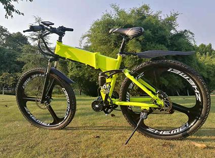 电助力山地自行车
