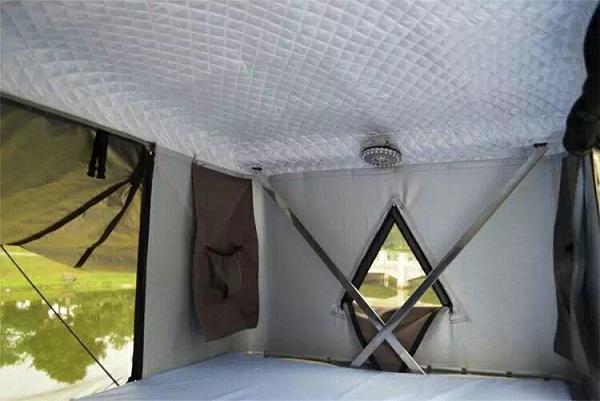 湖南手搖式車頂帳篷
