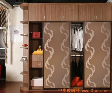 木板格子造型柜效果图
