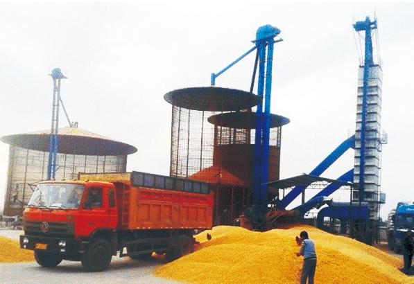 小麦烘干塔合理的选择及其生产能力分析