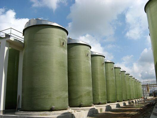 化工厂玻璃钢储罐