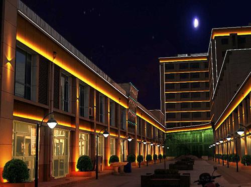 商业街楼体亮化工程方案