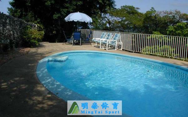 新建游泳池