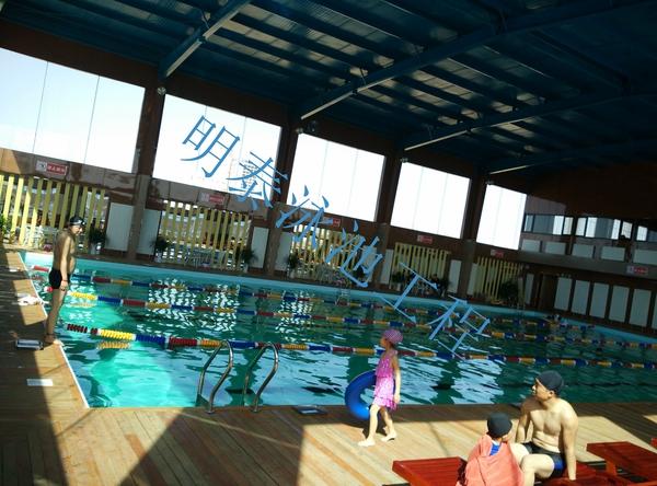 羽豐游泳館對明泰的泳池設計方案很滿意