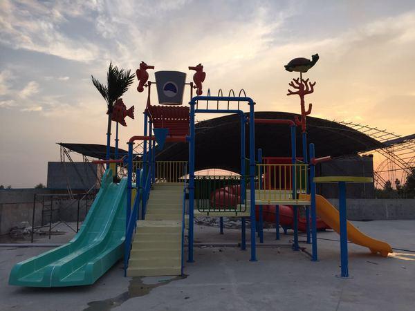 华阴儿童水上乐园建设