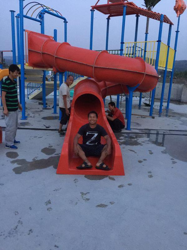 華陰兒童水上樂園建設