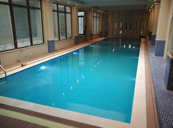 西安曲江别墅游泳池建设