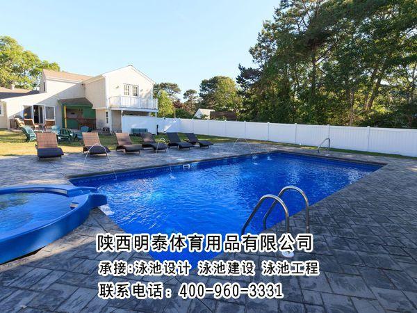 兴海游泳池建设