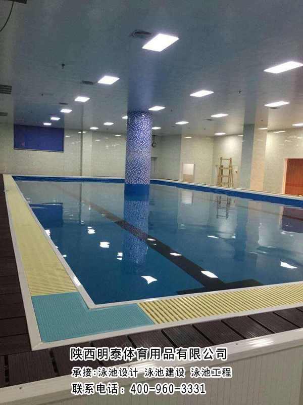 白銀裝配式游泳池