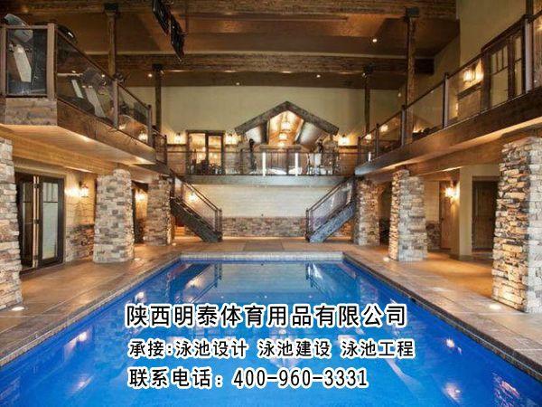 白銀室內恒溫游泳池