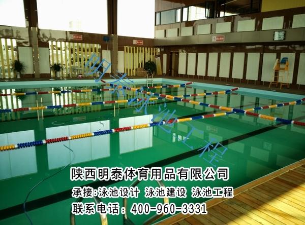 華陰標準泳池
