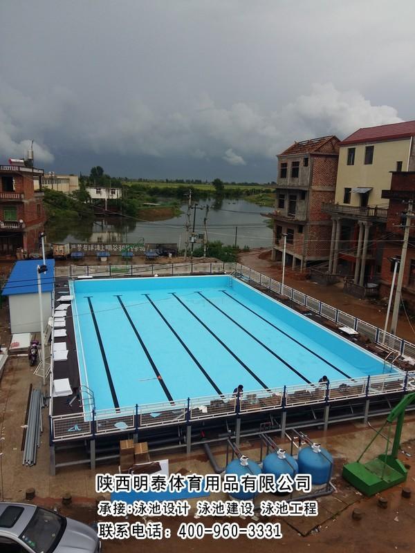 天水土建游泳池