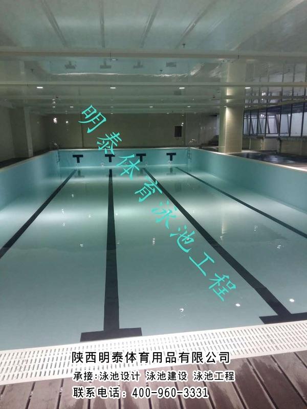 酒泉土建游泳池