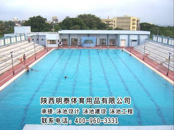 吳忠土建游泳池