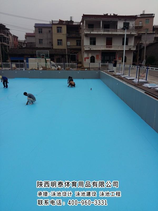 格爾木土建泳池