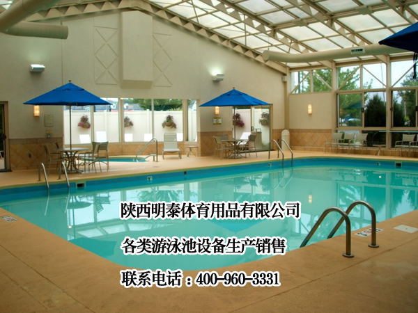 游泳池循环设备安装配合调试正常