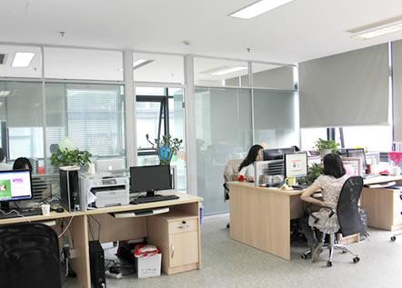 西安悦盈财务公司办公区