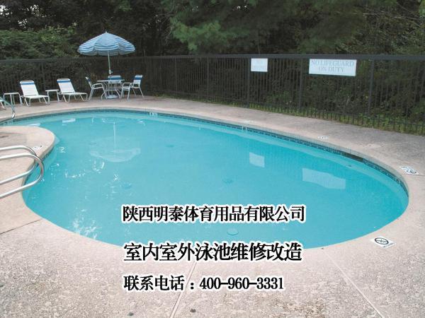 玉門游泳池維修