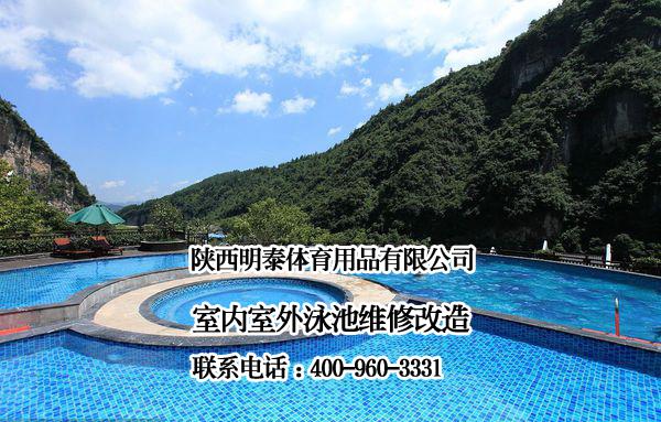 标准泳池维修
