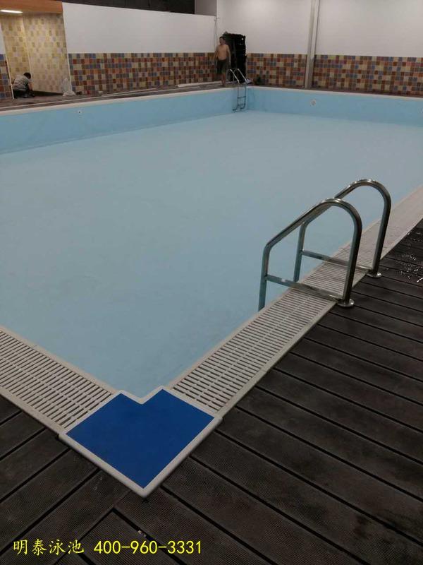 西安仕皇堡健身會所恒溫泳池維修已驗收完畢
