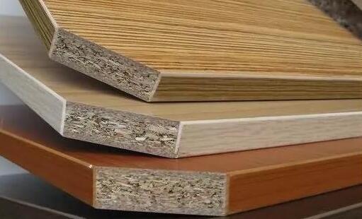实木颗粒板的表面特性