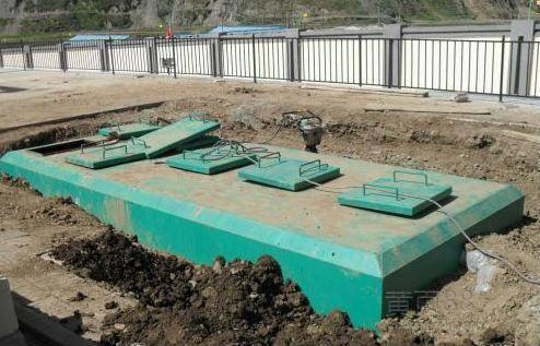 小区一体化污水处理设备
