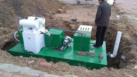 地埋式医院污水处理设备的一些必备小知识