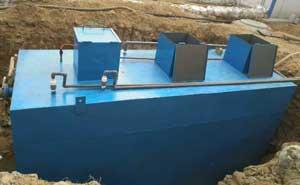 小型医疗污水处理设备的调试内容以及开箱检查记录