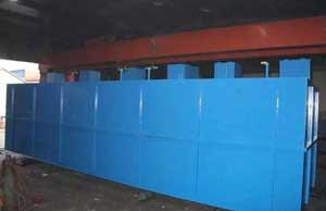 地埋式医院污水处理设备污水系统运行概述