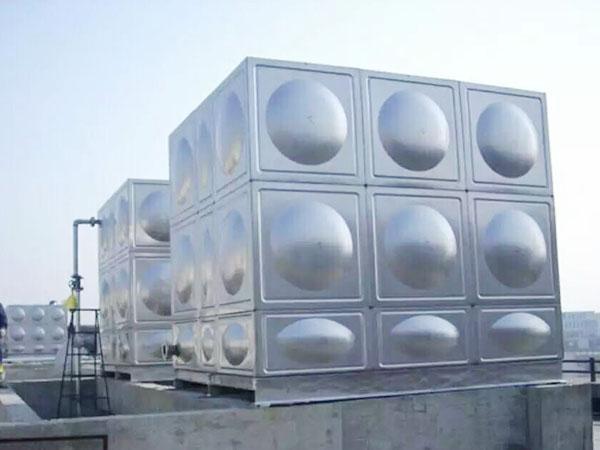 不锈钢方形水箱定制